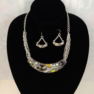 The name is (icon) fashion jewelry pretty necklace